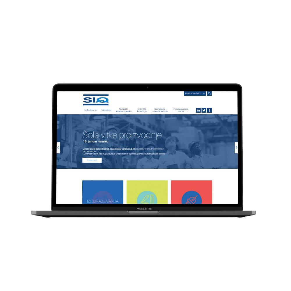 SIQ web concept