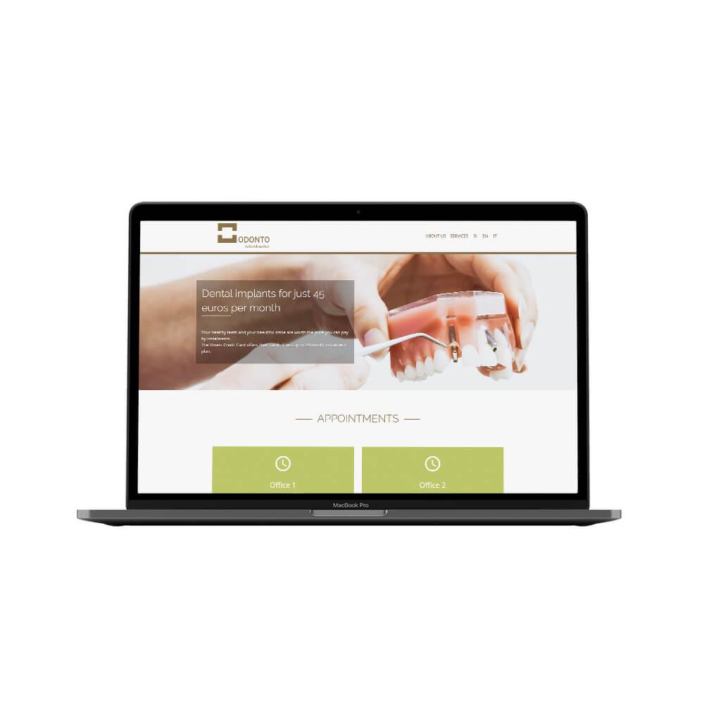 Odonto Website